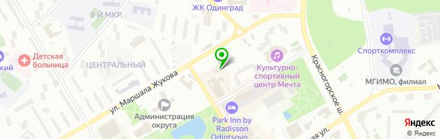 Служба быта ВсёУмейка — схема проезда на карте