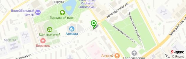 СМП Банк — схема проезда на карте