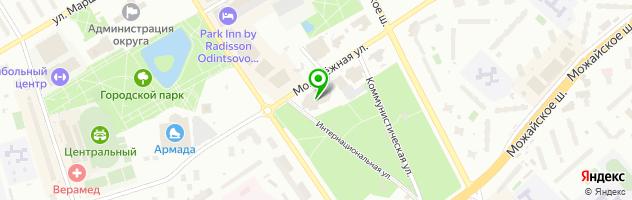 Дипломы в Москве — схема проезда на карте