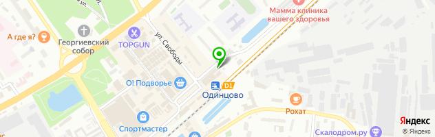 МСК Московский университет — схема проезда на карте