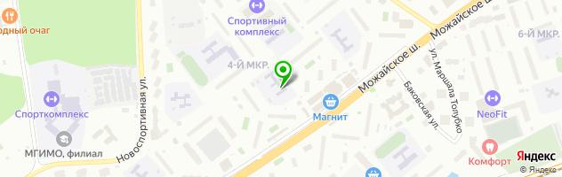 Детский сад №71 Ягодка — схема проезда на карте