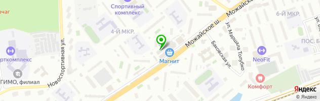 Детский центр «Золушка» — схема проезда на карте