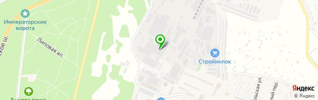 Автосервис Ильинка-авто — схема проезда на карте