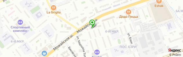 АКБ Росбанк — схема проезда на карте