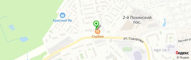 Маникюр в Одинцово с выездом на дом — схема проезда на карте