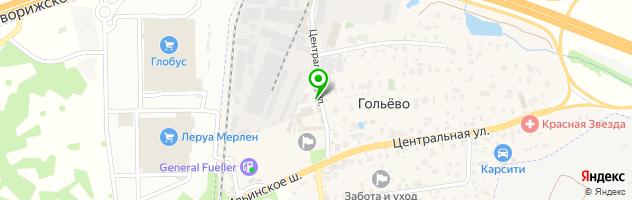 "Автотехцентр ""SofiDa-Motors"" — схема проезда на карте"
