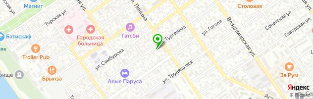 Центр медицинского массажа — схема проезда на карте