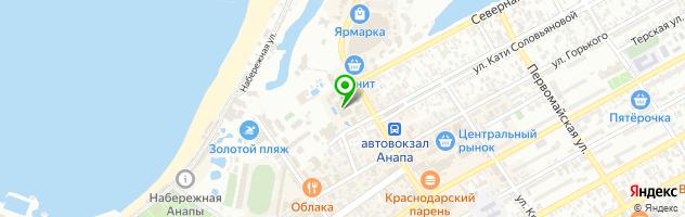 Ресторан GREEN DUCK — схема проезда на карте