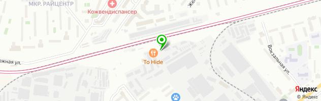 Вилгуд в Красногорске на Вокзальной — схема проезда на карте