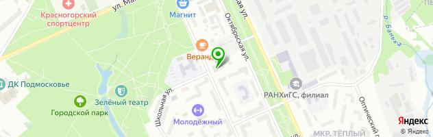 Ресторан Эл`Лада Club — схема проезда на карте