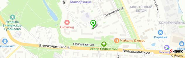 Кафе-пекарня Монтенегро (Пончики№1,Балканские пироги -Буреки) — схема проезда на карте