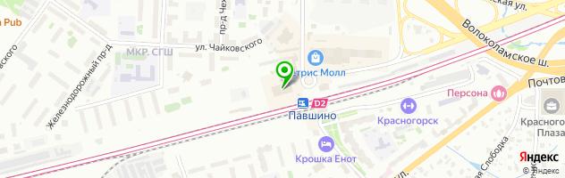 """Бюро переводов """"1001 перевод"""" — схема проезда на карте"""