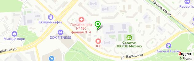 Медицинский центр Асклепион — схема проезда на карте