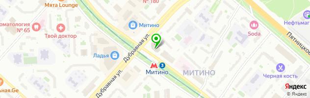 Персона Lab — схема проезда на карте