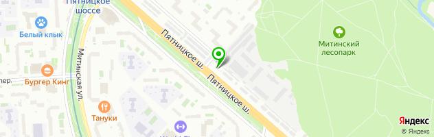 Автосервис Доктор Авто — схема проезда на карте
