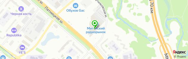Торгово-сервисный центр Ай911 — схема проезда на карте