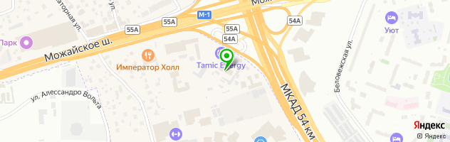 Автотехцентр Палекс-Авто — схема проезда на карте