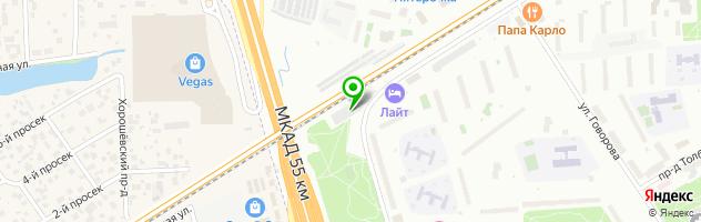 Автосервис Автопилот Кунцево — схема проезда на карте