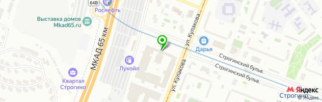 Сервисный центр Орбита — схема проезда на карте