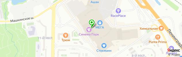 Школа танцев Никиты Худякова — схема проезда на карте