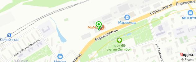 """Ресторан грузинской кухни """"С Акцентом"""" — схема проезда на карте"""