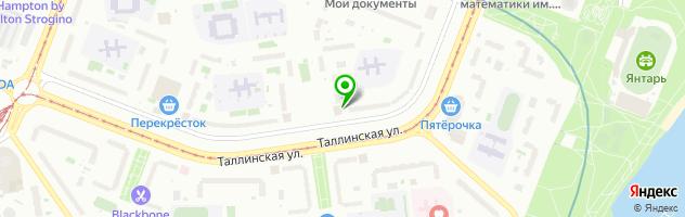 Фабрика-прачечная №19 — схема проезда на карте