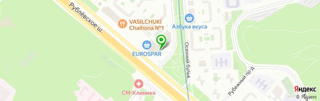 Клиника доктора Куренкова — схема проезда на карте