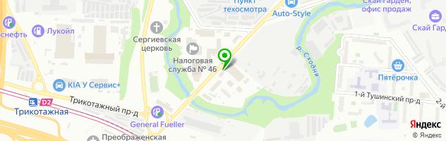 Торгово-производственная компания Мир Печатей — схема проезда на карте