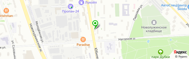 Гриль-кафе Сеньор Денер — схема проезда на карте