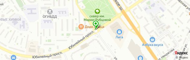 Салон красоты ИП Бударов АЮ — схема проезда на карте