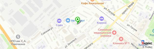 Багетная мастерская Союз художников — схема проезда на карте