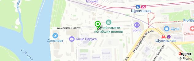 Веломастерская и веломагазин — схема проезда на карте