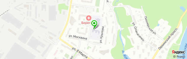 Детский сад №43 Родничок — схема проезда на карте