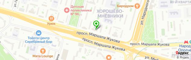 Ниармедик — схема проезда на карте