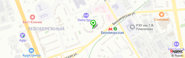 ВИП клиник-М — схема проезда на карте