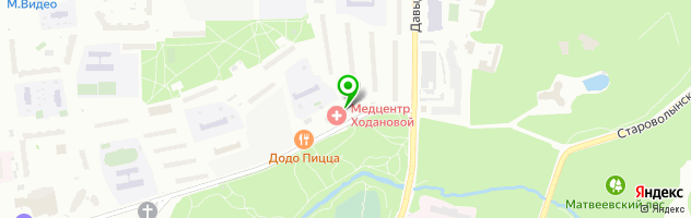 Медицинский центр иммунокоррекции им. Р.Н. Ходановой — схема проезда на карте