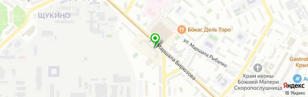 Ювелирная мастерская Бисмарк — схема проезда на карте