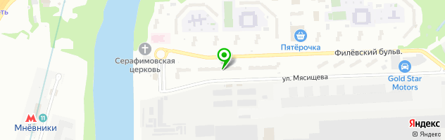 Медицинский центр Альфа Клиника — схема проезда на карте