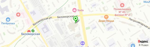 Автосервис Авто-Планета — схема проезда на карте