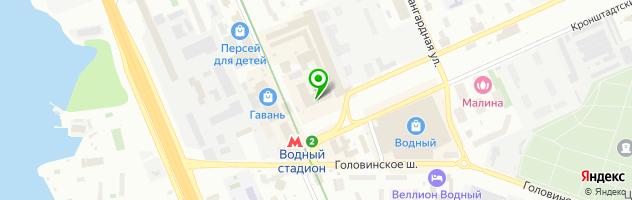 Медицинский центр МЕДКОМ — схема проезда на карте