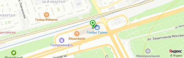 Химчистка-Премиум «CleanArt» — схема проезда на карте