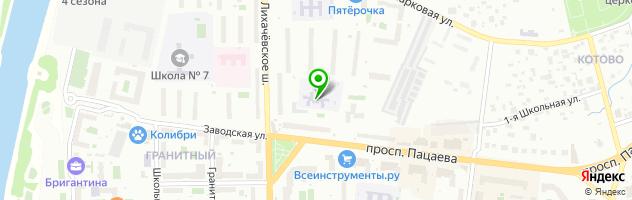 Детский сад №21 Росинка — схема проезда на карте