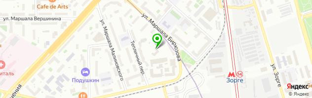 Детский музыкальный театр Домисолька — схема проезда на карте