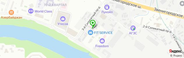 Автоцентр Konig Motor Club — схема проезда на карте