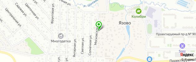 Srt-team автосервис — схема проезда на карте