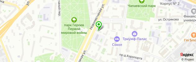 Центр бытовых услуг Алзани-М — схема проезда на карте