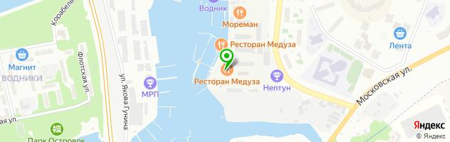 Бар-ресторан НЕПТУН в Долгопрудном — схема проезда на карте