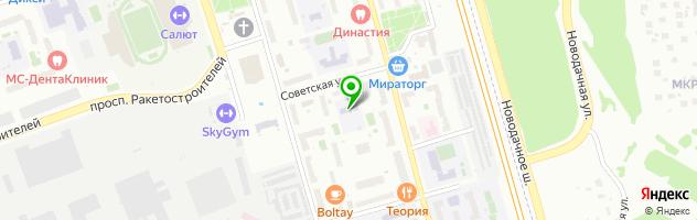 МАДОУ детский сад № 8 — схема проезда на карте