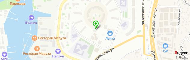 Стоматологическая клиника ДЕНТА-ЛЮКС в московских водниках — схема проезда на карте