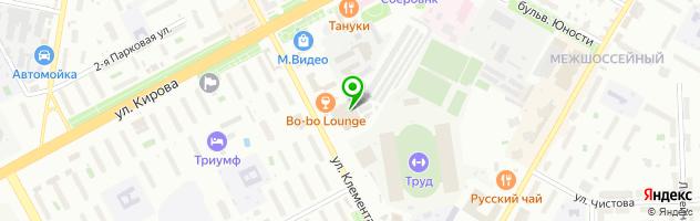 Квест в Подольске Портал в Эпохи — схема проезда на карте